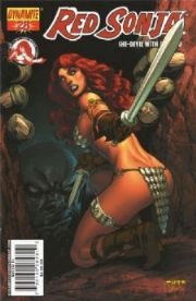 Red Sonja #28 Cover A Mel Rubi
